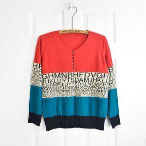 Graphic Statement Sweater
